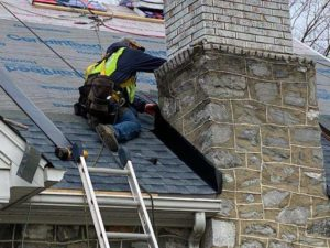 fixing chimney on roof in frederick md