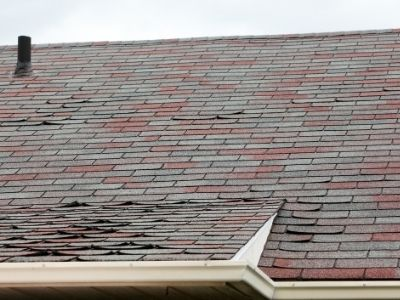 look for peeling shingles after winter for roof maintenance
